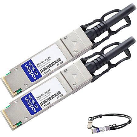 AddOn Mellanox MCP1600-C001 Compatible TAA Compliant 100GBase-CU QSFP28 to QSFP28 Direct Attach Cable (Passive Twinax, 1m)