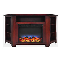 Cambridge Stratford Electric Corner Fireplace With