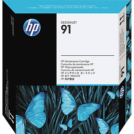 HP 91 - Original - DesignJet - maintenance cartridge - for DesignJet Z6100, Z6100ps