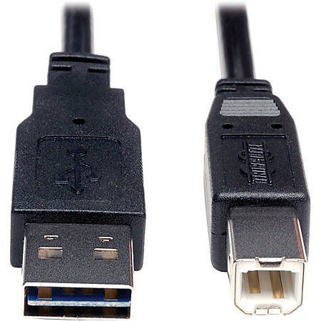 Tripp Lite 6ft USB 2.0 High Speed Cable Reverisble A to B M/M - (Reversible A to B M/M) 6-ft.