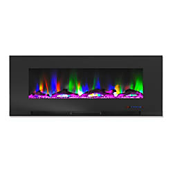 Cambridge Wall Mount Electric Fireplace With