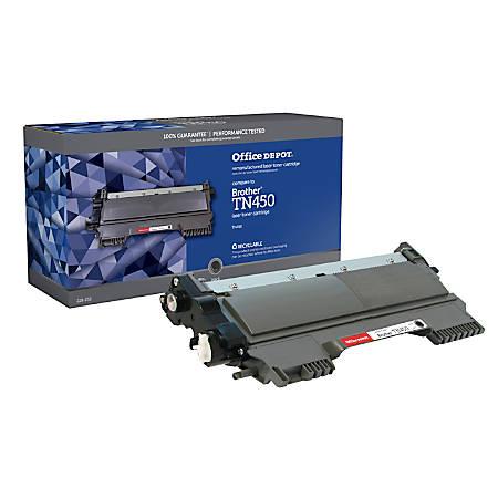 Office Depot® Brand CTGTN450 (Brother TN-450) High-Yield Remanufactured Black Toner Cartridge