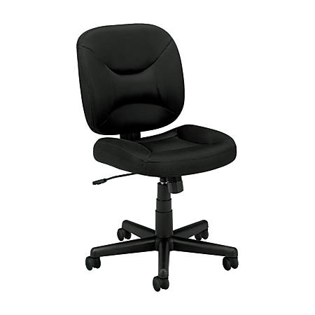 basyx by hon vl210 light duty pneumatic task chair black by office