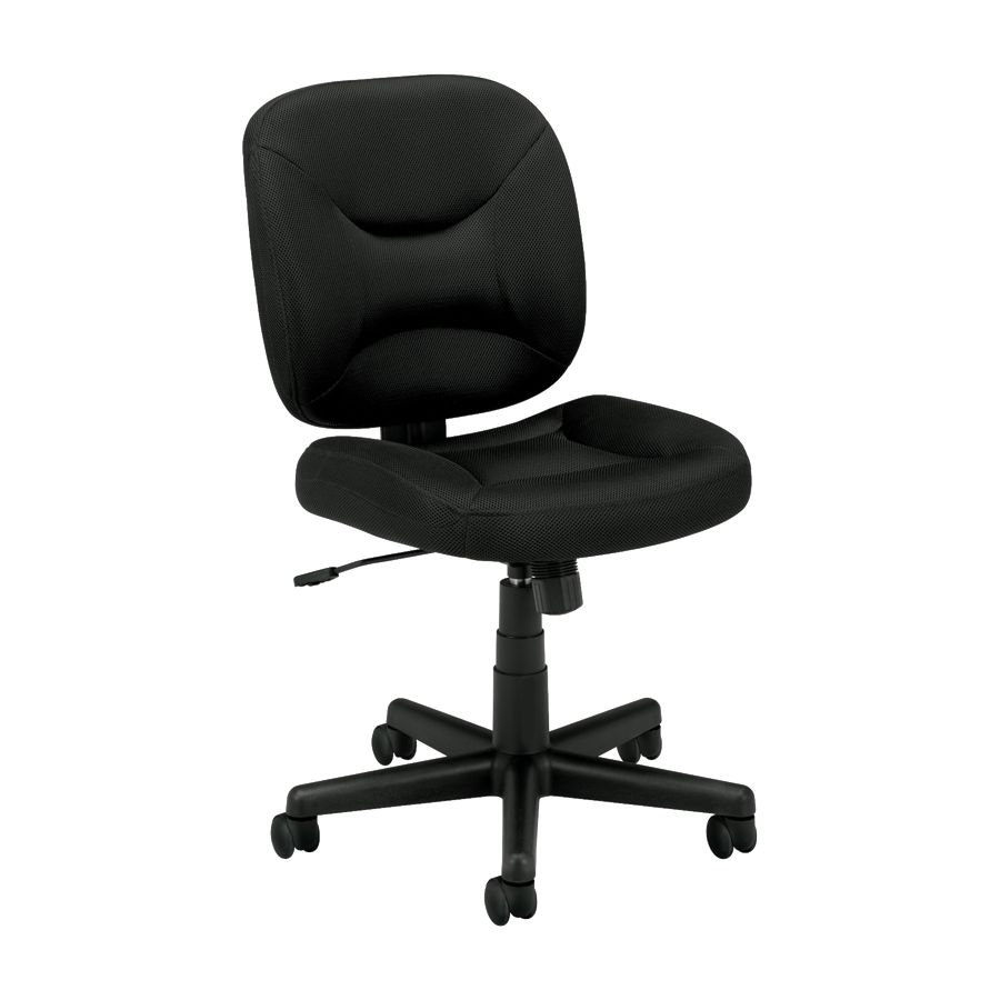 Basyx By HON VL210 Light Duty Pneumatic Task Chair Black By Office Depot U0026  OfficeMax