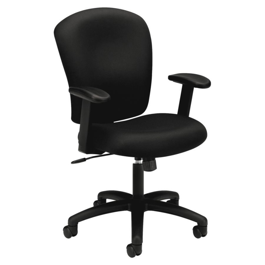 basyx by HON HVL220 Height Adjustable Arms Pneumatic Task Chair 41