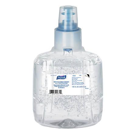 Purell® LTX Advanced Green Certified Gel Instant Hand Sanitizer, 1200 mL