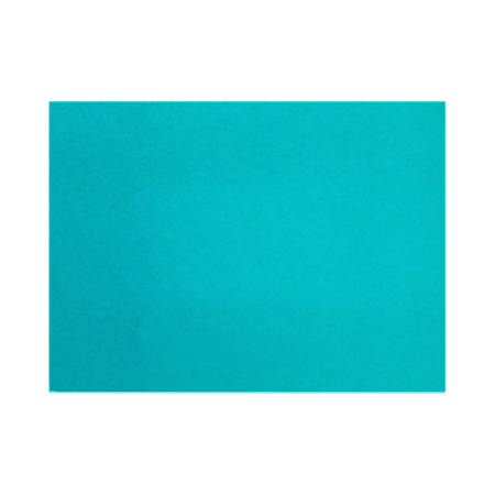 """LUX Flat Cards, A1, 3 1/2"""" x 4 7/8"""", Trendy Teal, Pack Of 250"""