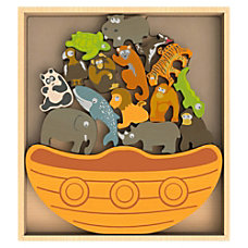 BeginAgain Toys Endangered Animals Boat Game