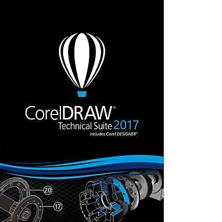 CorelDRAW Technical Suite 2017 Upgrade, Download Version