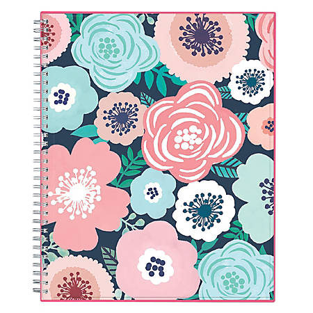 """Blue Sky™ CYO Weekly/Monthly Planner, 11"""" x 8 1/2"""", Lanai, July 2018 to June 2019"""