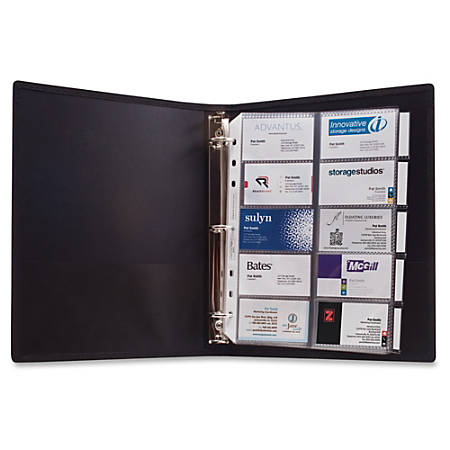 anglers 3 ring business card binder - Business Card Binder