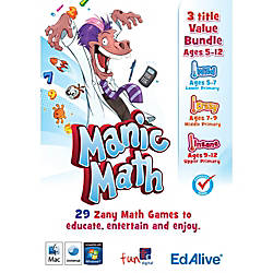 Manic Math Totally Mental Bundle Mac