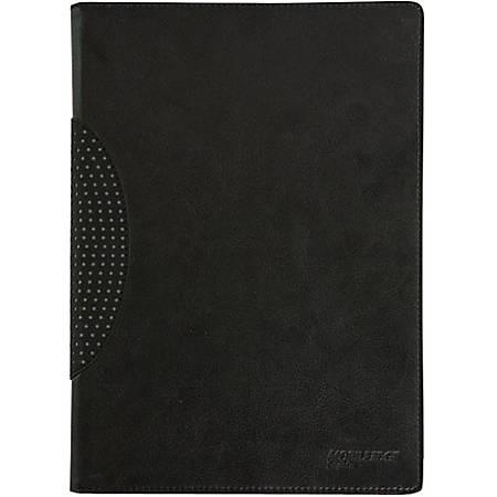 "Mobile Edge SlimFit Carrying Case (Portfolio) iPad - Black - Shock Absorbing, Bump Resistant, Drop Resistant, Spill Resistant - Vegan Leather, MicroFiber Interior - 9.8"" Height x 7.5"" Width x 0.8"" Depth"