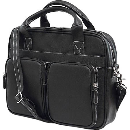 """Mobile Edge The Tech Carrying Case (Briefcase) for 15"""" Notebook - Black"""