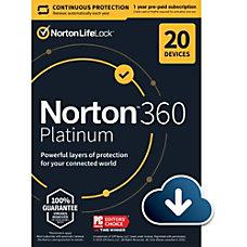 Norton 360 Platinum 100 GB 1