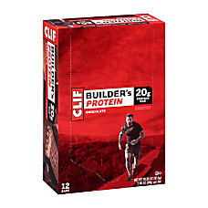Clif Builders Protein Bar Chocolate 24