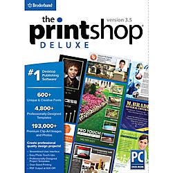 The Printshop Deluxe v35 Download Version