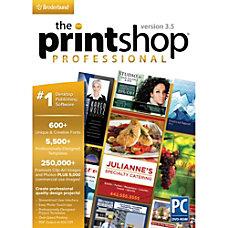 The Printshop Professional 35 Download Version
