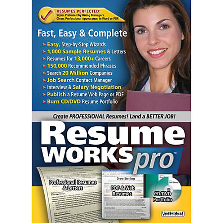 Resume Works Pro, Download Version