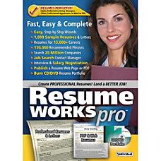 Resume Works Pro Download Version