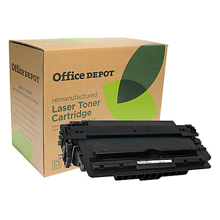Office Depot® Brand OD16A (HP 16A) Remanufactured Black Toner Cartridge