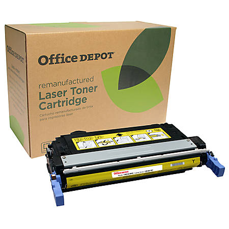 Office Depot® Brand OD4005Y Remanufactured Toner Cartridge Replacement For HP 642A Yellow