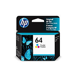 HP 64 Tri Color Original Ink