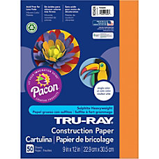 Tru Ray Construction Paper 12 x
