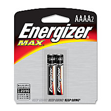 Energizer Max AAAA Batteries AAAA Alkaline