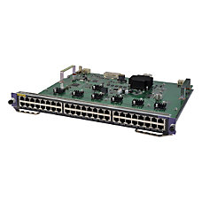 HPE 7500 48 port 1000BASE T