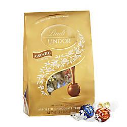 Lindor Chocolate Truffles Assorted Platinum Bag