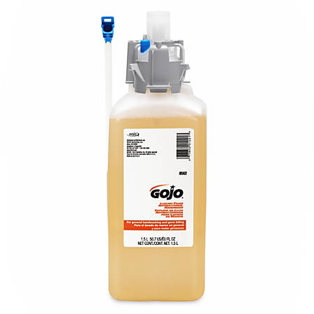 GOJO® Luxury Foam Antibacterial Handwash, Fresh Fruit Scent, 126.4 Oz, Pack Of 2