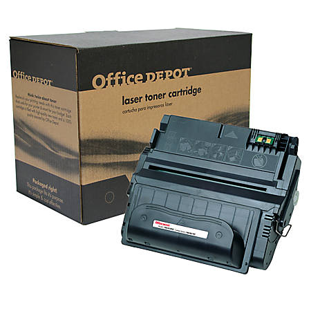 Office Depot® Brand OD38TM (HP 38A) Remanufactured Black MICR Toner Cartridge