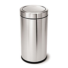 simplehuman Swing Top Commercial Trash Can