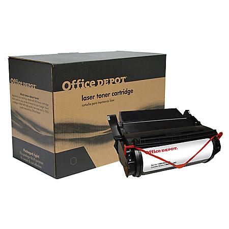Office Depot® Brand OD69 (Lexmark 12A5845) Remanufactured High-Yield Black Toner Cartridge
