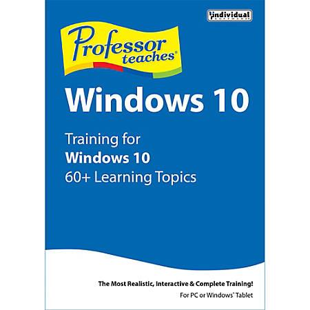 Professor Teaches Windows 10, Download Version