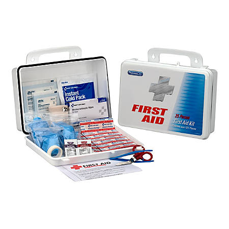 PhysiciansCare® Office First Aid Kit, White, 135 Pieces