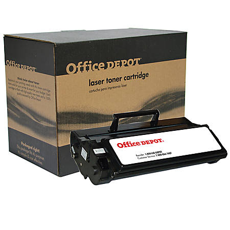 Office Depot® Brand ODE321 (Lexmark 12A7405) Remanufactured High-Yield Black Toner Cartridge