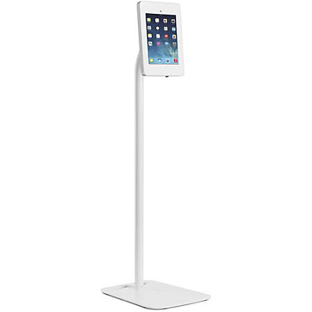 Tryten Pivot Floor - Stand for Apple iPad - lockable - acrylic, powder-coated steel, high-grade steel - white - for Apple iPad (3rd generation); iPad 1; 2; iPad Air; iPad Air 2; iPad with Retina display
