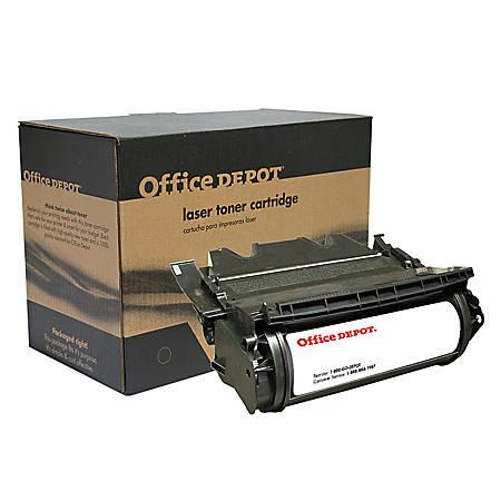 Office Depot® Brand ODT630 (Lexmark 12A7462) Remanufactured High-Yield Black Toner Cartridge