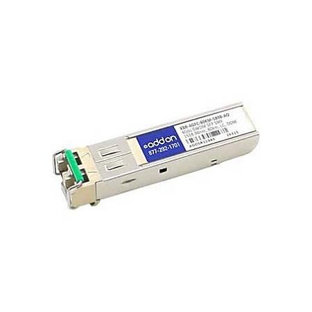 AddOn Brocade XBR-4GFC-80KM-5898 Compatible TAA Compliant 4Gbs Fibre Channel DWDM 100GHz SFP Transceiver (SMF, 1558.98nm, 80km, LC, DOM)
