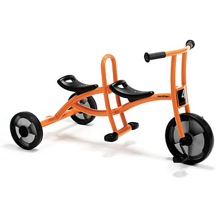 "Winther Circleline Taxi, 23 5/8""H x 24 13/16""W x 43 5/16""D, Orange"