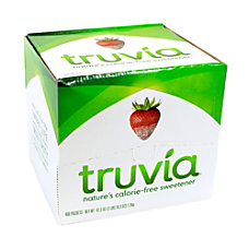 Truvia Sweetener Packets Box Of 400