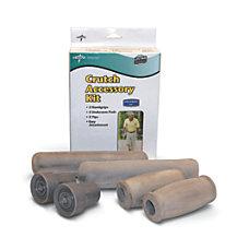 Medline Crutch Accessory Kits Gray Case