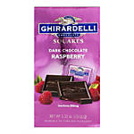 Ghirardelli® Chocolate Squares, Dark Chocolate And Raspberry, 5.32 Oz, Pack Of 3 Bags