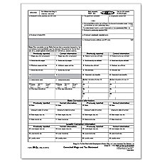 ComplyRight W 2C InkjetLaser Tax Forms