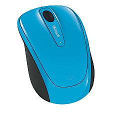 Microsoft Wireless Mobile Mouse 3500 Cyan
