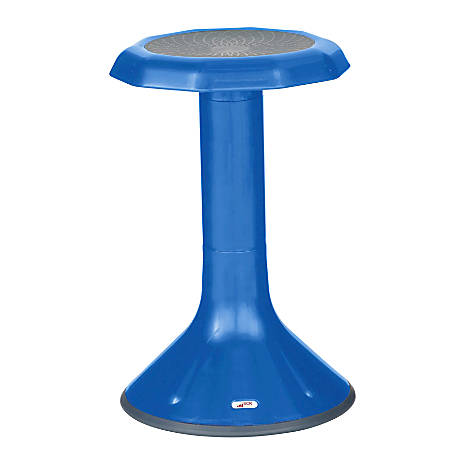 "ECR4Kids ACE Stool, 21 1/4""H, Blue"