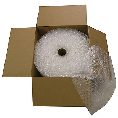 """Office Depot® Brand Bubble Roll, Extra-Wide, 5/16"""" Thick, Clear, 24"""" x 120'"""