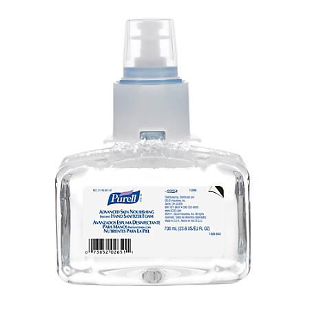 Purell® LTX Advanced Skin Nourishing Instant Hand Sanitizer Foam, 700 mL